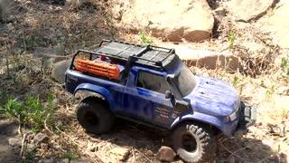 RC Traxxas TRX4 Sport Rock Crawler @ The Old Spahn Movie Ranch Location