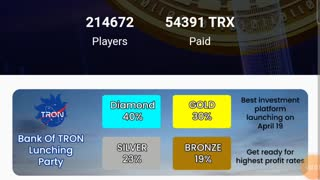 Earn TRX every 4 minutes