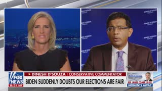 Dinesh D'Souza SLAMS Biden For Calling Anyone Who Opposes Him A White Supremacist
