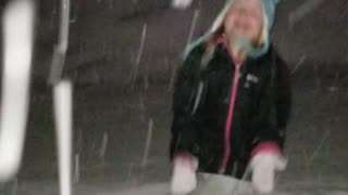Snow storm fun!