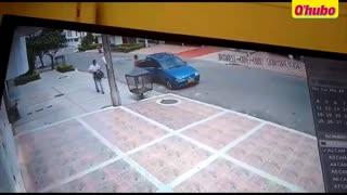 Video: Los delincuentes ahora andan en carro en Bucaramanga