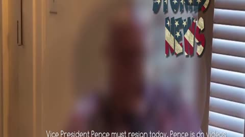 Vice President Pence must resign today.-COMPROMISED!