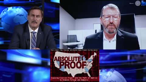 """Mike Lindell Provides """"Absolute Proof"""" The 2020 Election Was Stolen"""