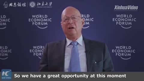 "Klaus Shwab servant of ""Gates, explains the Great Reset!"