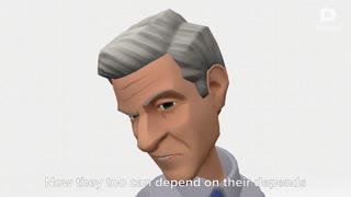 Cartoon Biden thanks China