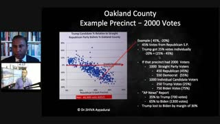 Dr. Shiva, PHD from MIT mathematics discussion of Michigan election 2020