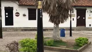 Así se ve el toque de queda en Bucaramanga y su área metropolitana