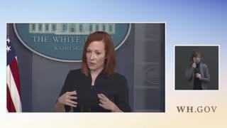 Jen Psaki Blames Trump Administration For Border Crisis Worsening Under Biden Administration