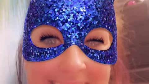I'm wearing a mask