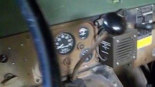 M151A2 engine vacuum