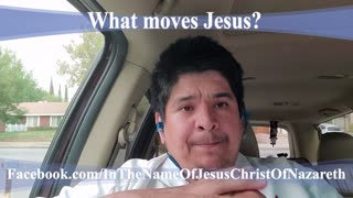 What moves Jesus?