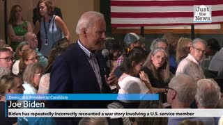 Biden has repeatedly incorrectly recounted a war story involving a U.S. service member