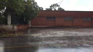 Lluvias en el sector de Floridablanca