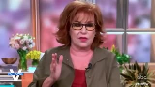 White Woman Joy Behar Explains Racism to African American Senator