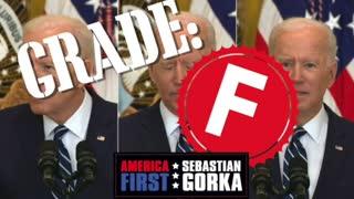 AMERICA First grades Biden's Press Conference