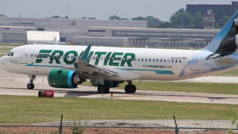 Airbus A320neo Operating as Frontier Airlines Flt. 1210