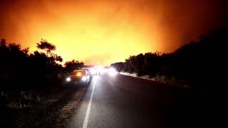 Incendio en Los Ángeles arrasa ya diez mil hectáreas