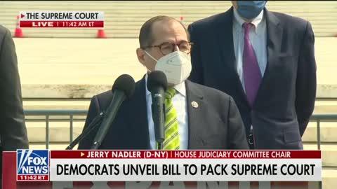 "Brazen Dishonesty: Rep Nadler Says He's ""Unpacking"" the Court"