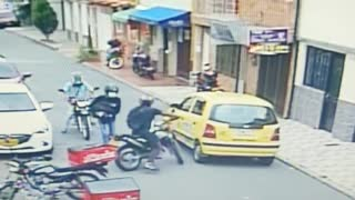 Video: Los fleteros se bajaron $10 millones en Bucaramanga
