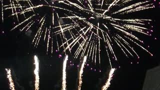 big fireworks In Russia