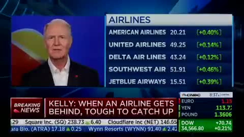 Southwest Airlines CEO denies massive flight cancellation is related to vaccine mandate