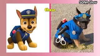Dogs Cartoon IN REAL LIFE 💥 All Characters