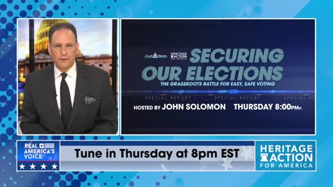 """"""" Securing Our Elections """" Televised Event Hosted By John Solomon: Tonight, April 15th @ 8:00 pm EST"""
