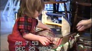 Christmas Morning 1994 - 1997