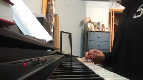 You Are My All In All; on piano