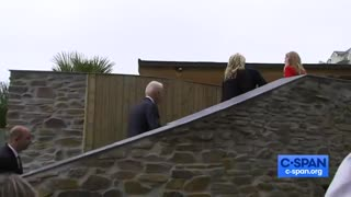 """Biden in England: """"It's gorgeous. I don't want to go home."""""""
