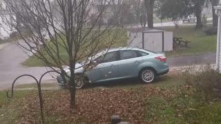 Canal Fulton Ohio November 15 2020 High Winds