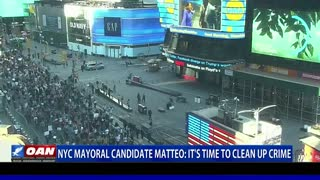 NYC mayoral candidate Mateo: It's time to clean up crime