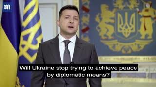 Russia - Ukraine tension: Zelensky tells Putin Ukraine doesn't want war,