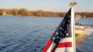 Trump boat rally