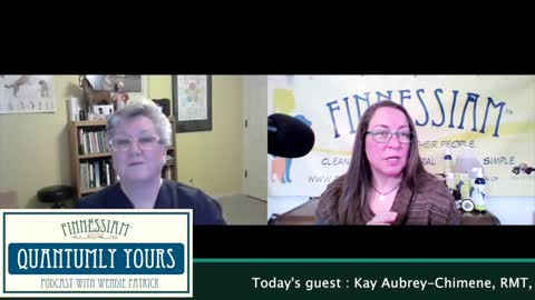 #7 Light Workers with Kay Aubrey Chimene - Quantumly Yours (Finnessiam Health's Podcast)