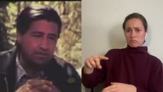 Lost Video Interview from Cesar Chávez