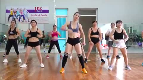 Easy Exercise To Lose Belly Fat At Home For Beginners - 35 Mins Aerobic Workout - EMMA Fitness