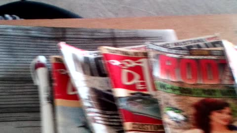 Magazines, for lunch?