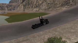 American Truck Simulator Snake River Canyon Jump