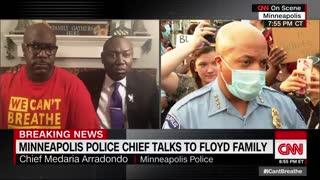 Minneapolis police chief talks to CNN