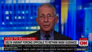 "Fauci: Vaccine Hesitancy Will Create ""Two Americas"""