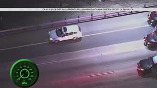 CHP & Anaheim High Speed Police Pursuit