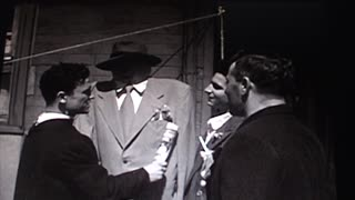 Funny Italian Shotgun Wedding from 1950