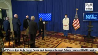Pence and Surgeon General get COVID vaccine