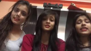 whatsapp viral video  cute girls comedy performance  Awesome video