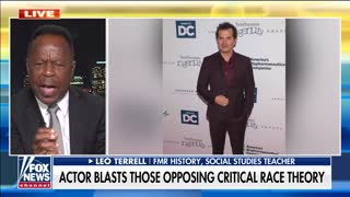 Leo Terrell torches liberal actor for profanity-laced rant about CRT supporters