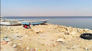 Tourist Capture Oldest Nature Qarun Lake View