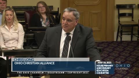 OCA President Chris Long Testimony before the Ohio House Education Committee