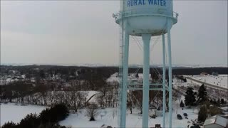 Fontanelle Water Tower Revisited Jan. 29, 2021