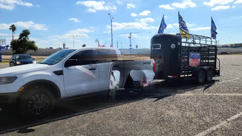 McAllen Trump Train 11/01/20
